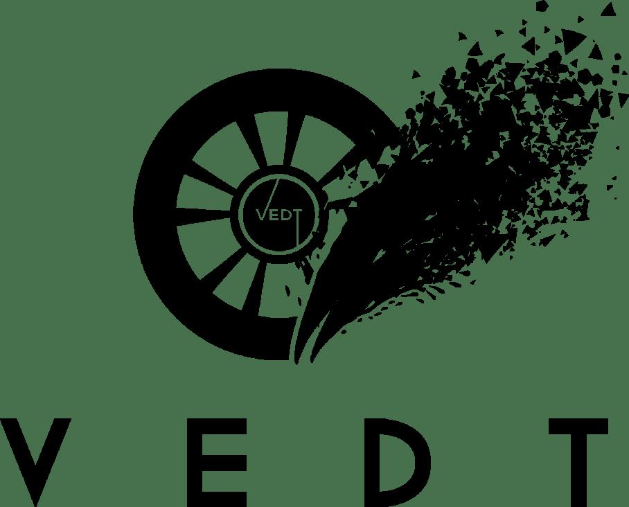 VEDT logo black